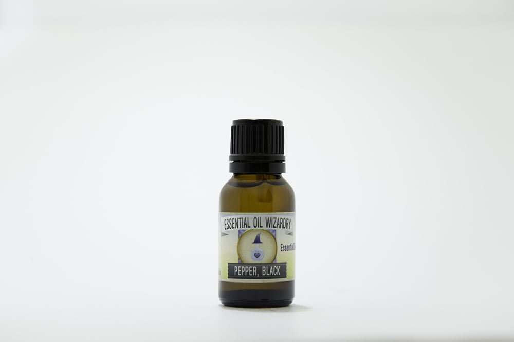 Black Pepper Essential oil pure