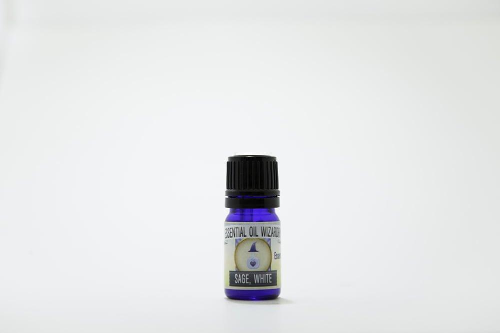 White Sage Essential Oil Wizardry