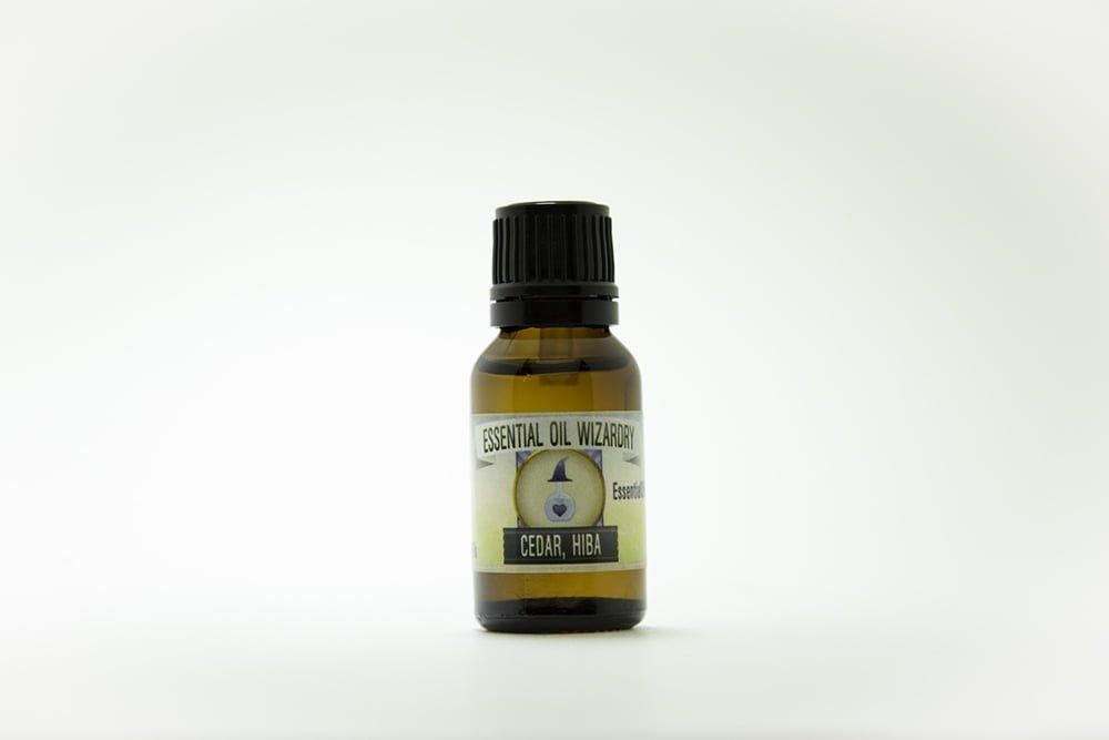 Hiba cedar essential oil pure